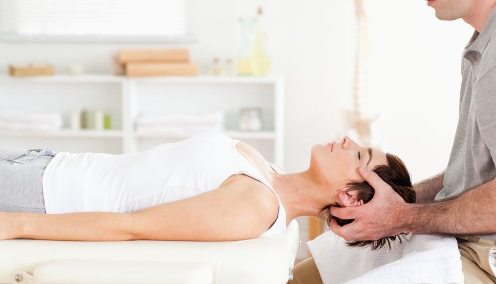 Chiropractor stretching