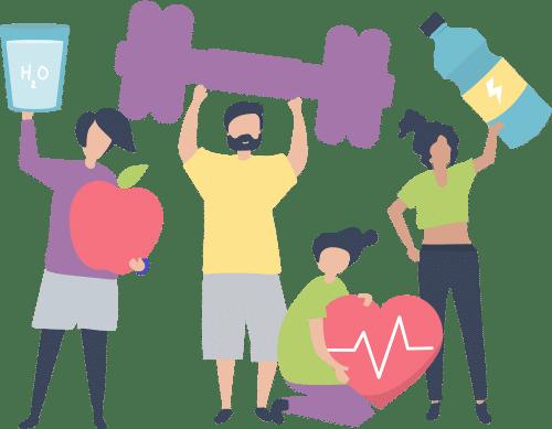 Fcer Health Illustration