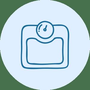 Weight Icon Fcer