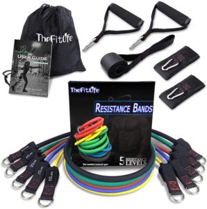 The Fitlife Resistance Bands Set